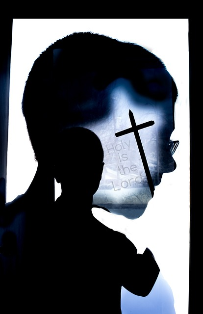 Disciple - boy head cross